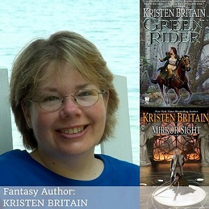 Photo of Interview with fantasy author, Kristen Britain