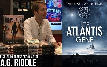 Photo of Interview with science fiction author, A.G. Riddle