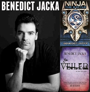 Photo of Interview with adult urban fantasy author,  Benedict Jacka