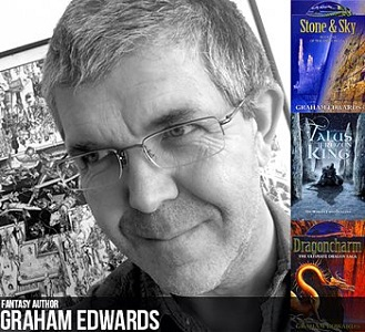Photo of Interview with fantasy and crime fiction author, Graham Edwards