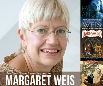 Photo of Interview with New York Times bestselling fantasy author, Margaret Weis