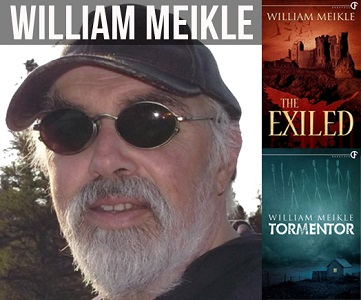 Photo of Interview with author, William Meikle