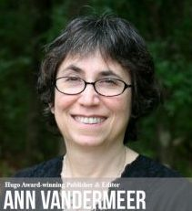 Photo of Interview with publisher and editor, Ann VanderMeer