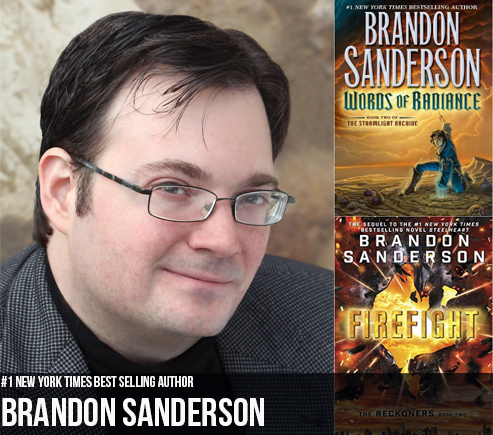 Photo of Interview with New York Times best-selling author, Brandon Sanderson