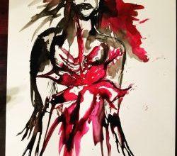 Photo of Ekphrastic Challenge: Poetry – Red by Laura Cherry